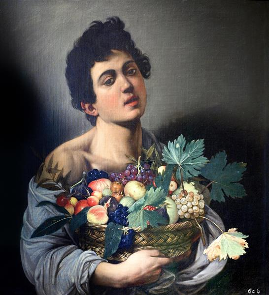 Boy with a Basket of Fruit, c.1593 - Caravaggio