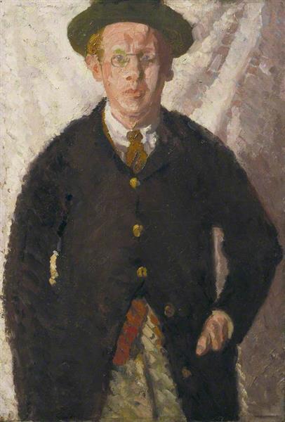 Self Portrait, 1909 - Matthew Smith