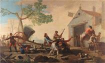 La lotta al Venta Nueva - Francisco Goya