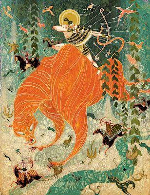 Tiger Hunter for PLANSPONSOR, 2013 - Victo Ngai