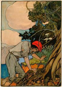 Now and Again I Stumbled,  for Robert Louis Stevenson's Treasure Island - Elenore Abbott