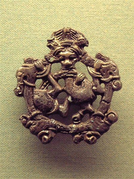Bronze Pendant from Hedeby (Haithabu) - Північне мистецтво