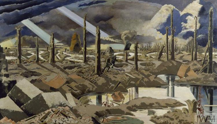The Menin Road, 1919 - Paul Nash