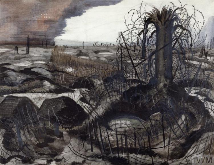Wire, 1919 - Paul Nash