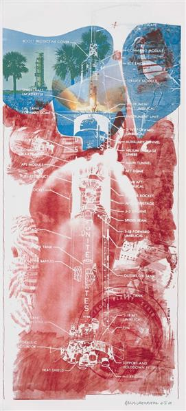Sky Garden (Stoned Moon), 1968 - Роберт Раушенберг