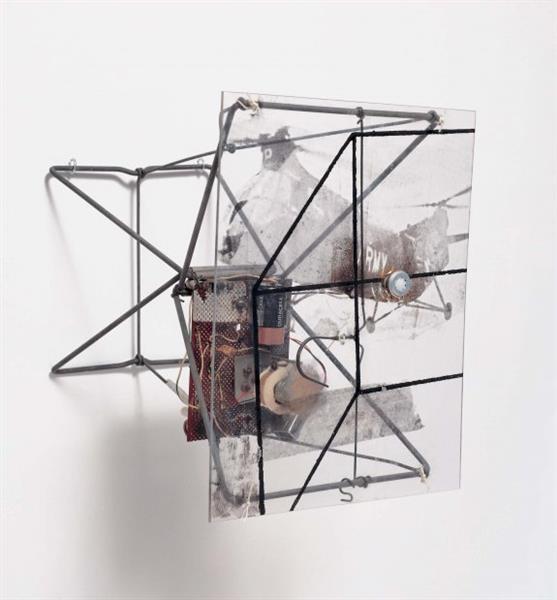 Dry Cell, 1963 - Robert Rauschenberg