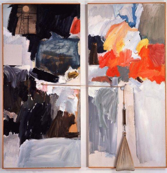 Studio Painting, 1961 - Robert Rauschenberg
