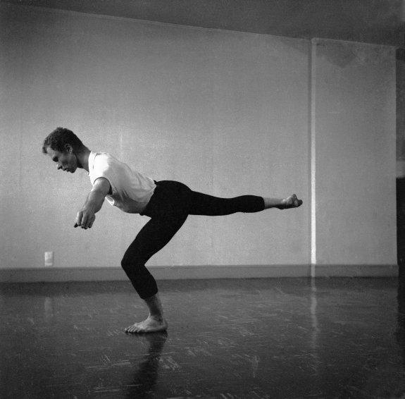 Untitled [Merce (III)], 1953 - Robert Rauschenberg