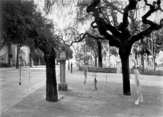 Untitled [nine Feticci Personali, Rome], 1953 - Robert Rauschenberg