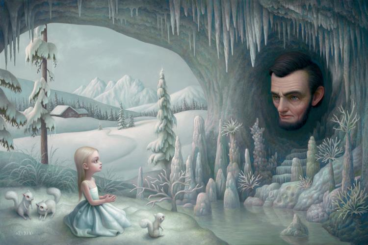 Grotto of the Old Mass, 2008 - Mark Ryden
