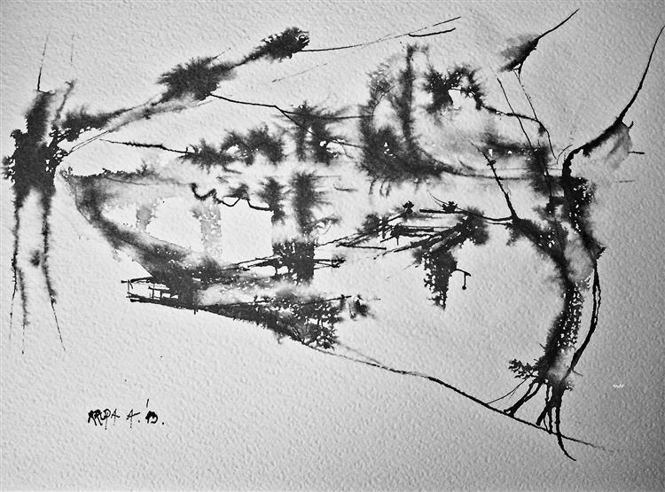 A boat, 2013 - Alfred Freddy Krupa