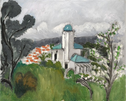 La Villa Bleue, 1918 - Henri Matisse