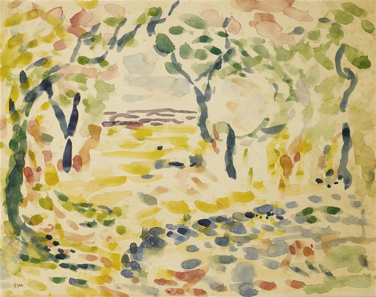 Étude Pour 'Le Bonheur De Vivre, 1905 - Henri Matisse