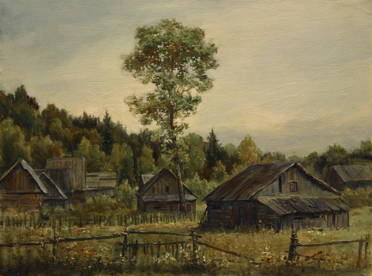 Сараи и огороды, 2008 - Andrey Shishkin