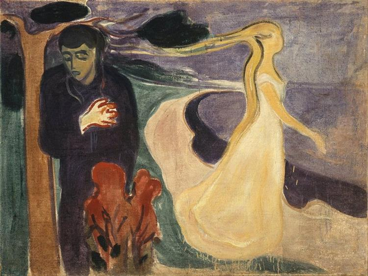 Separation, 1896 - Edvard Munch