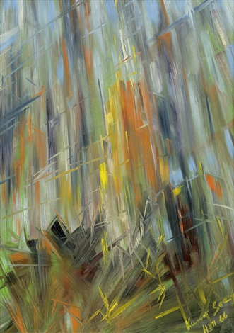 Abstract Composition, 1966 - Konrad Zuse
