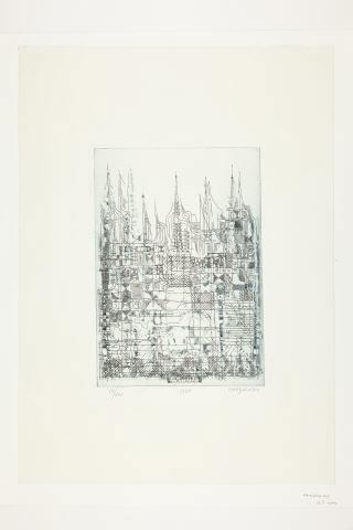 Sem Título, 1982 - Manuel Cargaleiro