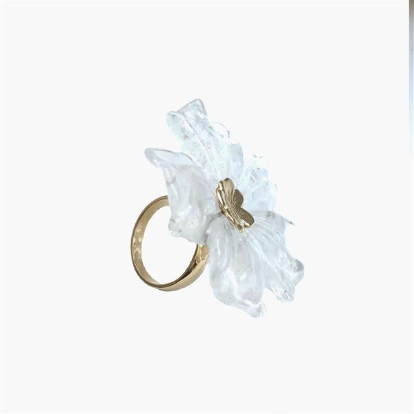 ICE FLOWER RING - Miriam de Ungría