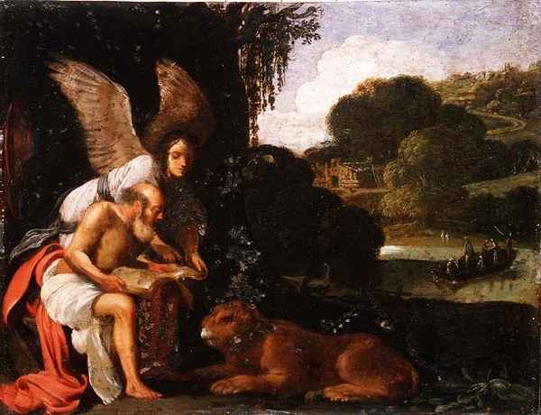 St. Jerome in the Wilderness, 1610 - Adam Elsheimer
