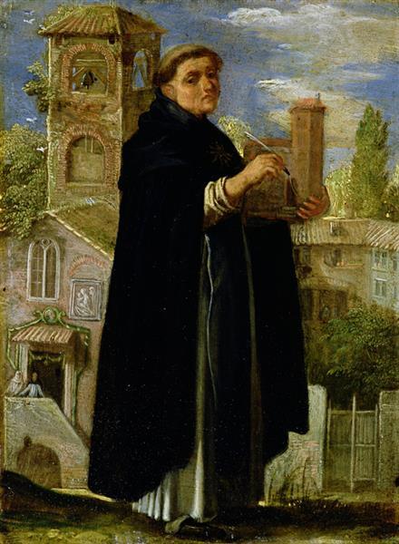 Saint Thomas Aquinas, 1605 - Adam Elsheimer