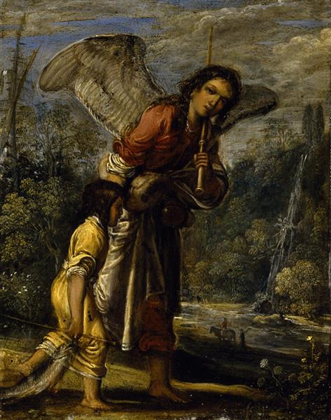 Tobias and the Angel, 1605 - Adam Elsheimer