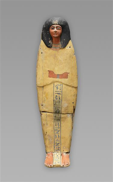 Coffin of Prince Amenemhat, c.1186 - c.945 BC - Ancient Egyptian Painting