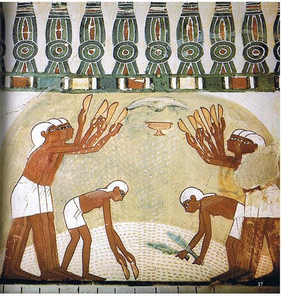 Use of a Khekher Ornament, c.1390 BC - Ancient Egypt