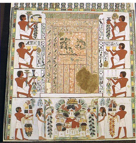 Scheintür, c.1390 BC - Ancient Egypt