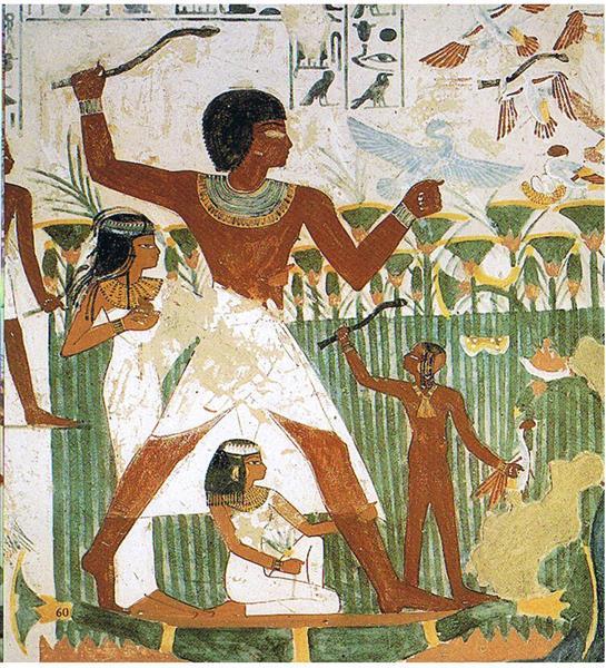 Nacht Als Vogeljäger, c.1390 BC - Ancient Egypt