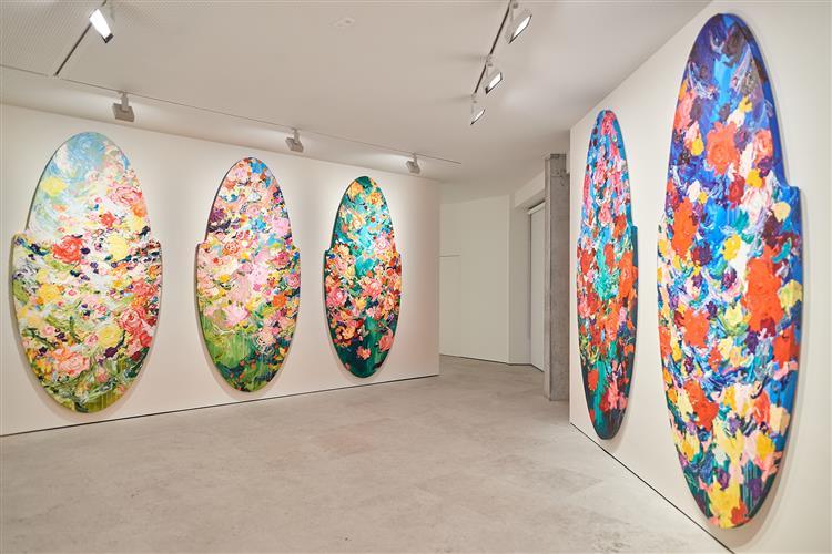 My Secret Garden, Twelve Months paintings, 2018 - 2019 - Arne Quinze
