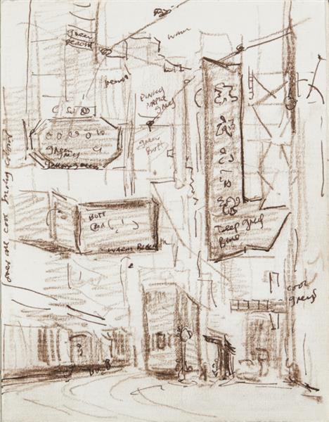 Hong Kong Trams and Tram Stop - Martin Yeoman