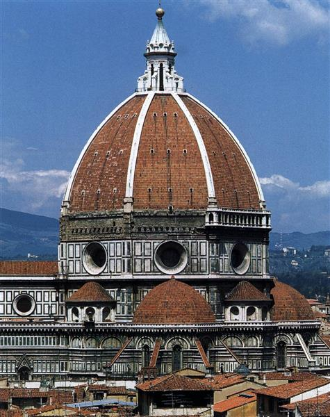 Dome of the Santa Maria del Fiore cathedral (Florence), 1420 - 1436 - Filippo Brunelleschi