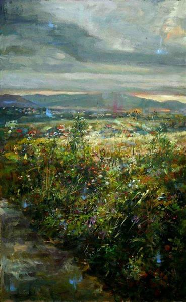 Łąka/The meadow - Czesław Jan Pyrgies