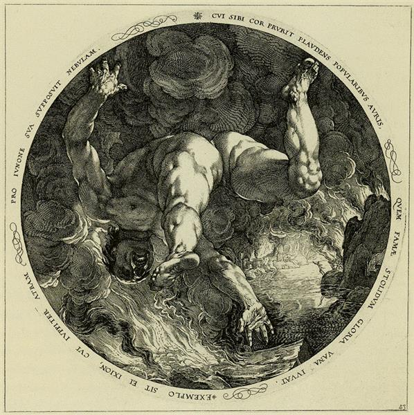 Ixion, 1588 - Hendrick Goltzius