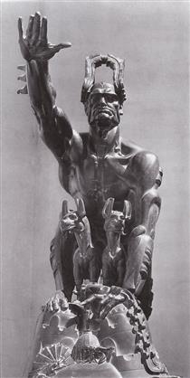 SOLZHENITSYN MEDALLION BY sculptor STANISLAV SZUKALSKI