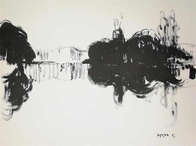 The river, 2001 - Alfred Freddy Krupa