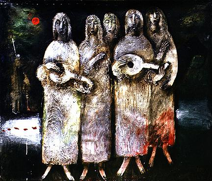 Night Choir, 1989 - Valeria Trubina