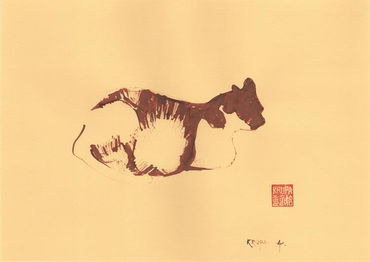 Cat, 2013 - Alfred Freddy Krupa