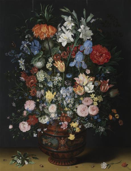 Flowers in a Vase - Jan Brueghel the Elder