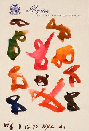 # 1 NYC, 1970 - William Saroyan