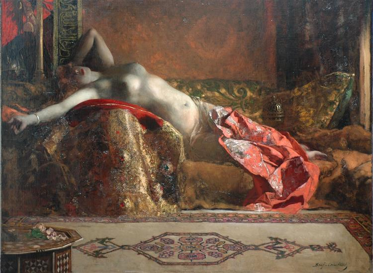Reclining Odalisque - Benjamin Constant