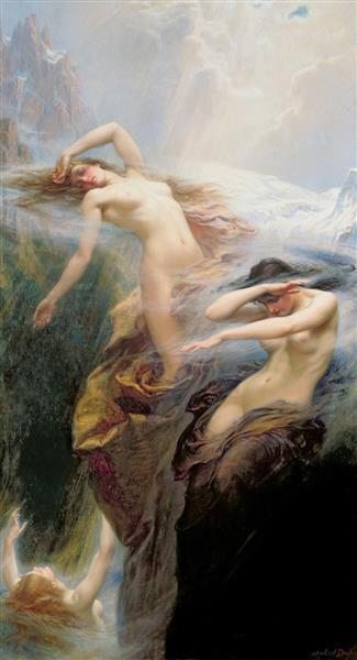 The Morning Mists, 1912 - Herbert James Draper