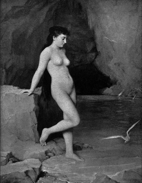 La Nymphe de la Grotte d'Azur - Jean Benner
