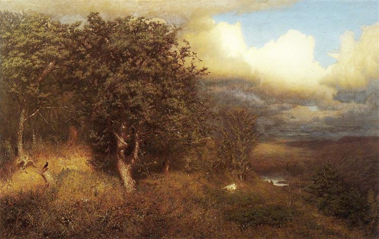 Summer Storm, 1865 - Alexander Helwig Wyant