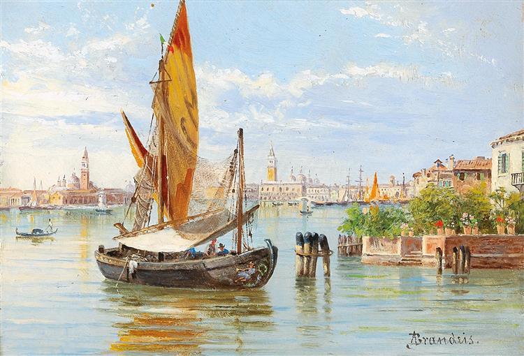 Barche De Pesche, Venezia, 1910 - Antonietta Brandeis