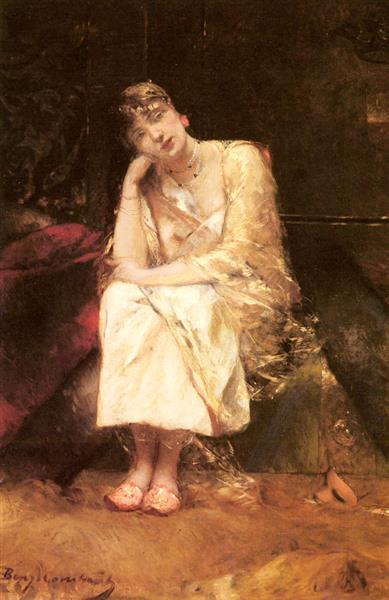 Contemplation - Benjamin Constant