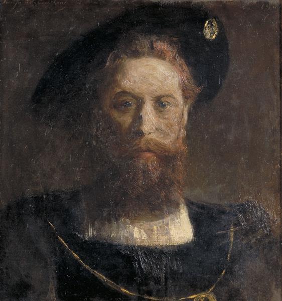Portrait D'homme De La Renaissance - Benjamin Constant