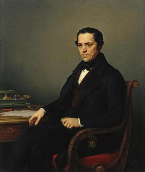 Portrait of Dmitry Benardaki, 1844 - Charles de Steuben