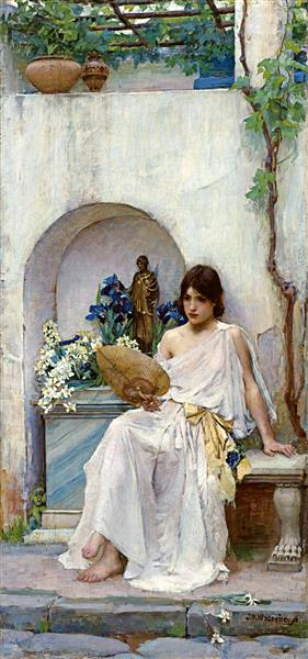 Flora, 1890 - John William Waterhouse
