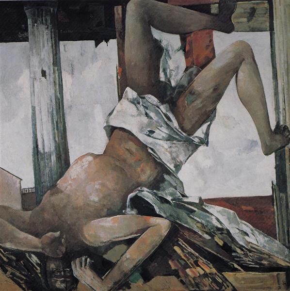 Falling Icarus, 1982 - Rudolf Bér
